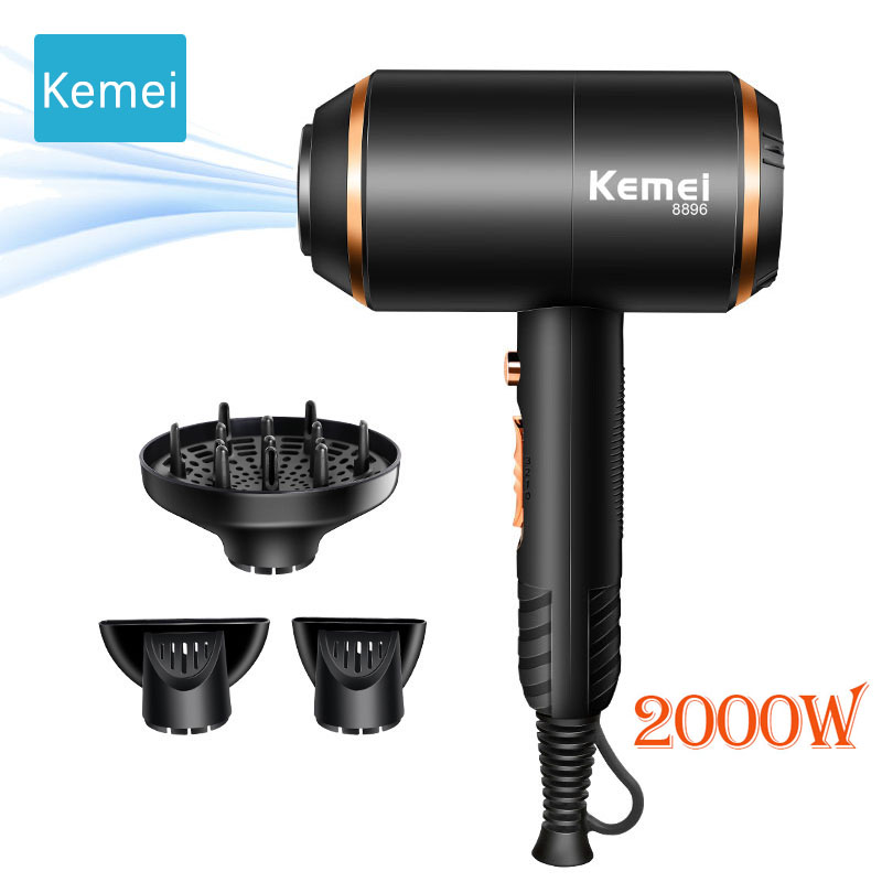 Kemei Electric Hair Dryer High Power And High Quality Electric Drying Machine Anion No Hair Injury Professional Hair Blower 1