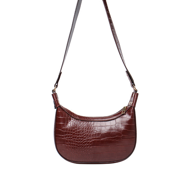 Retro Crocodile Pattern Crossbody Bags 2020