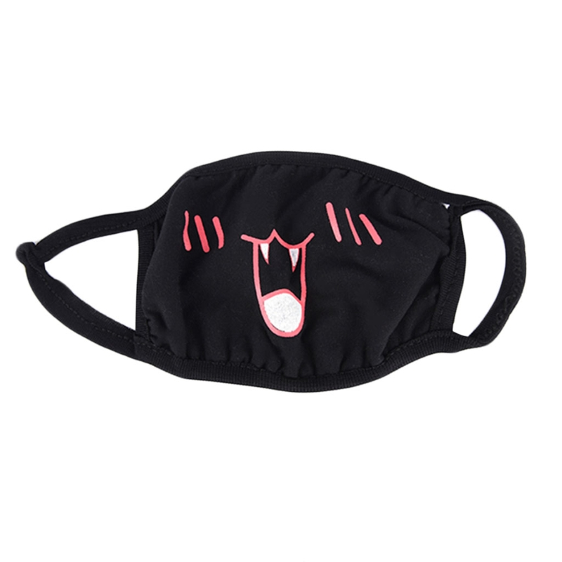 Face Mouth Mask Unisex Respirator Stop Air Pollution Lovely Cartoon Cotton Cover X5XC