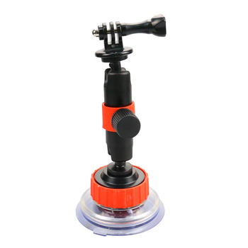 For GoPro Action Camera Car Suction Cup Sucker Car Holder Mount For Osmo Xiaomi SOOCOO SJCAM Eken Glass Suction Cup Bracket 360 degree rotational 1 4 car mount holder w suction cup gopro adapter for camera gopro hero 4 sj4000