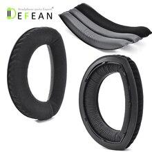 Defean เปลี่ยน HD700 แผ่นรองหูฟัง earmuff ถ้วยเบาะโฟม Headband hoops สำหรับ Sennheiser HD700 H 700 หูฟัง