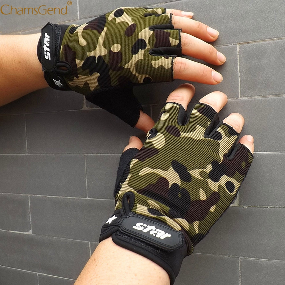 2019 Military Tactical Gloves Men Winter Fingerless Gym Fitness Gloves Paintball Airsoft Shoot Combat Anti-Skid Bicycle Gloves