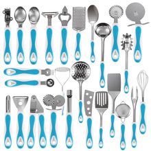 Utensils-Set Spoon Skimmer-Shovel Spatula Kitchenware Cooking-Tools Meat-Fork Stainless-Steel