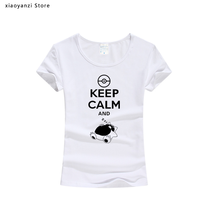 Pokemon Snorlax Keep Calm And Carry On Sleeping Pullover Hoodie Cotton Jacket