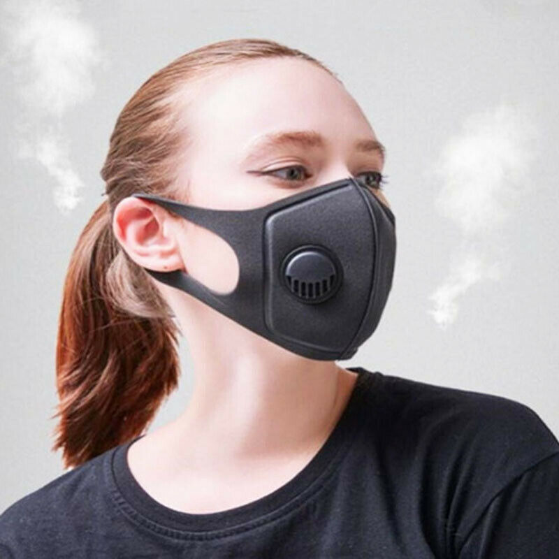 Anti PM 2.5 Pollen Dust Breathing Mask Washable Reusable Anti-fog Activated Carbon Filter