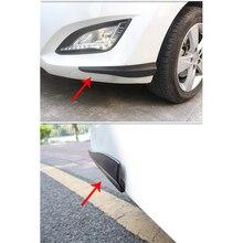 1pair For Volvo S60 XC90 V40 V70 V50 V60 S40 S80 XC60 XC70 Nissan Qashqai X-TRAIL Juke Carbon Car Spoiler Bumper Strip Sticker