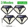 4 Pieces 102 LEDs