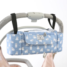 Baby Stroller Organizer Diaper Bag Baby Pram Carriage Unicorn Storage Bottles Portable Nappy Changing Bag Stroller Accessories цена в Москве и Питере