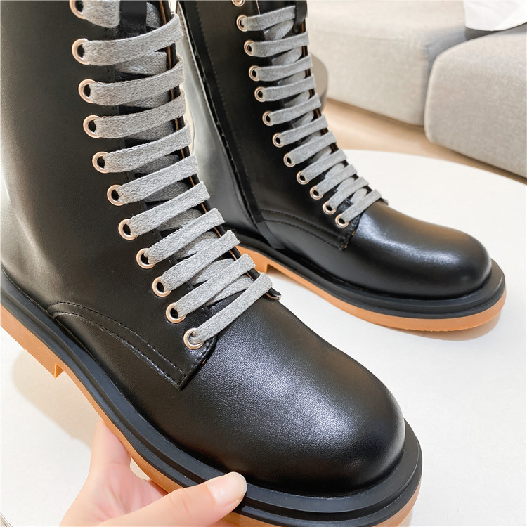 PEIPAH Winter Ankle Boots Women s Genuine Leather Shoes Woman Rubber Short Boots Ladies Low Heel