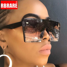 RBRARE Square Oversize Sunglasses Women 2019 High Quality Gradient Luxury Brand Sun Glasses Gafas De Sol Mujer