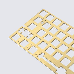 Image 2 - Brass Plate Steel Plate Positioning Board Plate mounted Stabilizers For GH60 XD64 DZ60 GK64 Gk64x GK64xs