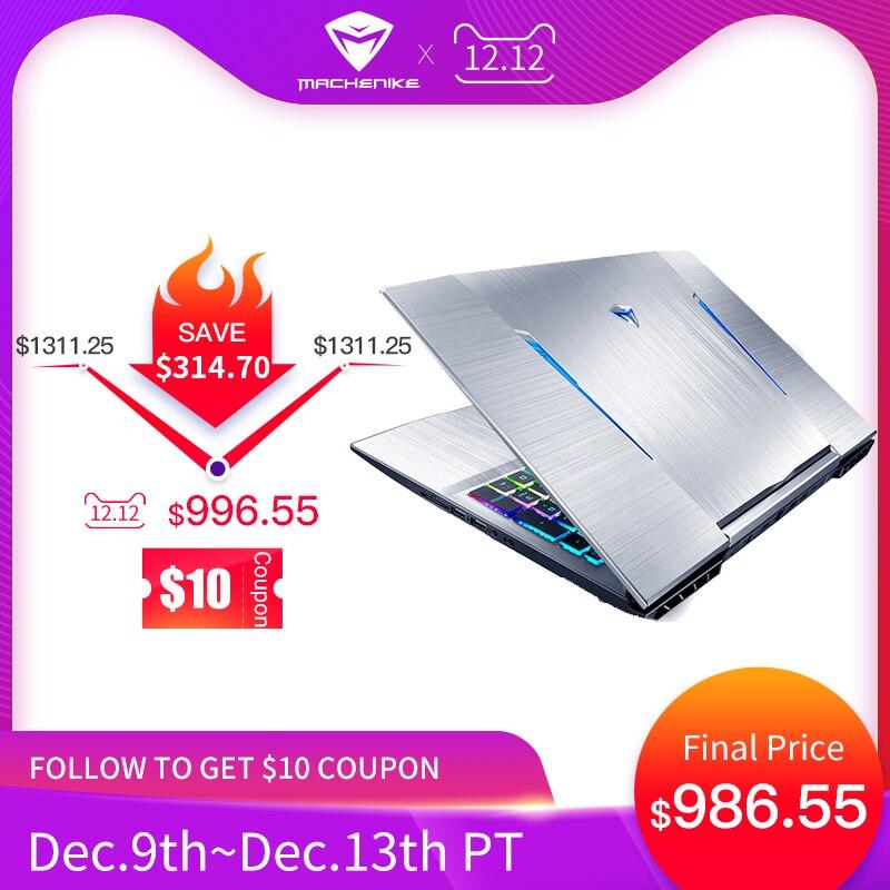 "Machenike T90-T6C Gaming Laptop (Intel Core i7-8750H+GTX 1060 6G/8GB RAM/256G SSD/15.6"" 144Hz72%NTSC) Machenike-brande notebook"