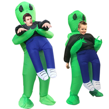 Aliens Inflatable Costume Scary Monster Cosplay Halloween Party Festival Stage Pick Me Up Childrens clothing or Adult