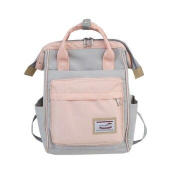 Mori Hit Color School Bag Female Korean Version Japanese Student School Bag Harajuku Girls Campus School Bag Travel Bag
