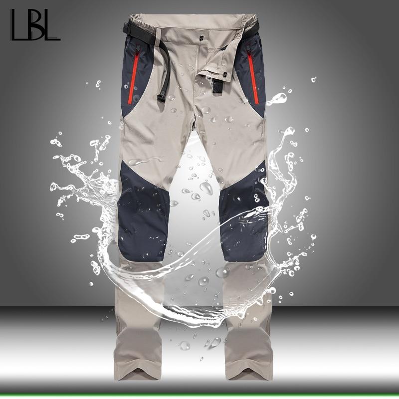 Pants Men Trousers Spring Trekking Cargo Outdoor Tactical Waterproof Quick-Dry Sports
