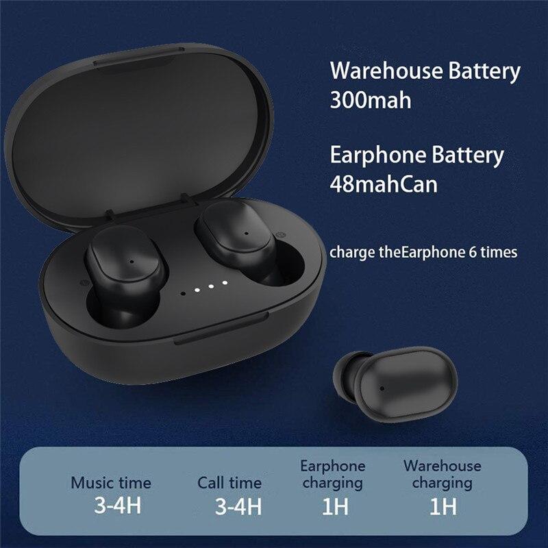 lowest price TWS Bluetooth Earphones HiFi Stereo Wireless Headphone Sport Headset Mini Earbuds Waterproof Wireless Bluetooth 5 0  Earphone