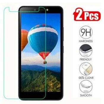Перейти на Алиэкспресс и купить Закаленное стекло для Itel A44, Защитное стекло для мобильного телефона, защитный чехол для экрана Itel A44