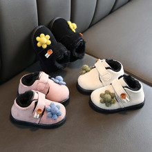 Dzieci Kid botki dla małej dziewczynki kostki sportowe krótkie botki dorywczo kwiat ciepłe buty Unisex zwierząt drukuje hak pętli buty dla dzieci # guahao tanie tanio ISHOWTIENDA Płótno Patch Zima Hook loop Kwiatowy RUBBER Pasuje prawda na wymiar weź swój normalny rozmiar baby shoes