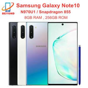 Samsung Snapdragon 855 Galaxy Note10 N970U1 256GB 8GB LTE/WCDMA/GSM/CDMA NFC Quick Charge 3.0