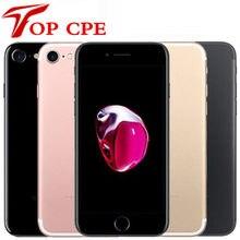 Original apple iphone 7 iphone7 4g lte celular quad core 2g ram 32gb/128gb/256gb rom 4.7 mp '12.0 mp impressão digital usado celular