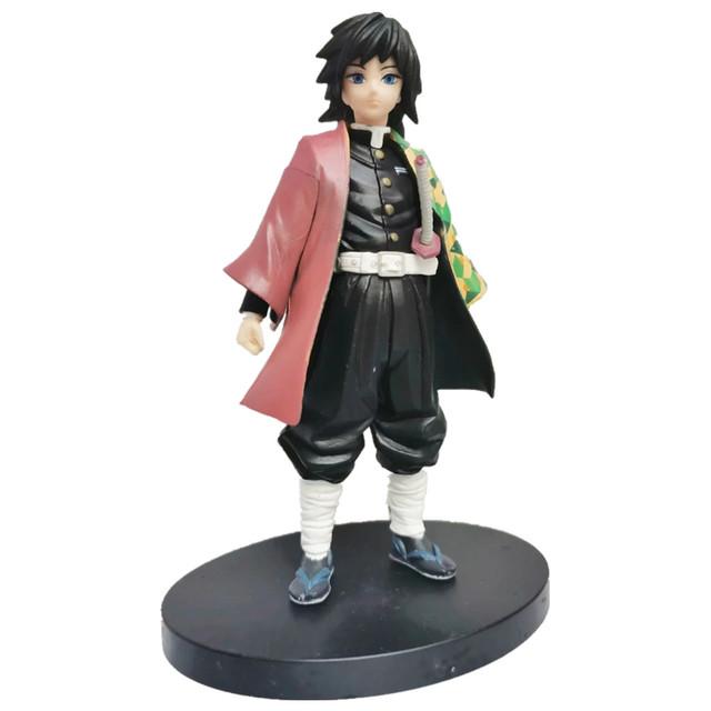 Kimetsu no Yaiba Tomioka Giyuu Figure Model Toy Demon Slayer Figure Anime Tomioka Giyuu Toys 150mm