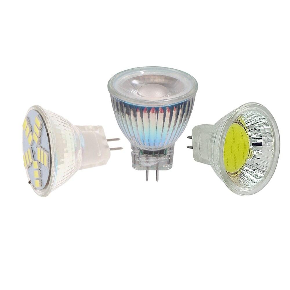 Foco LED regulable MR11 COB 5W 7W 9W CA/CC 12V luz LED 110V 220V MR11 Cob bombilla led de color blanco cálido blanco frío lampara LED Lámpara LED de noche con Sensor de movimiento PIR, lámpara LED de noche, lámpara de techo para sala de estar