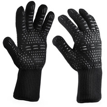 Kitchen Gloves BBQ Gloves Resistant Thick Silicone Extreme H