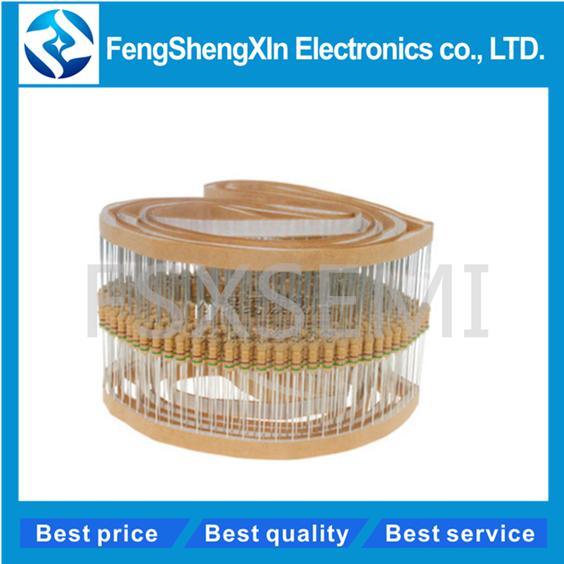 50pcs 1/2w 0.5W 5% Carbon Film Resistor 1R~1M 2.2R 10R 22R 47R 51R 100R 150R 470R 1K 4.7K 10K 47K 1 2.2 10 22 47 51 100 150
