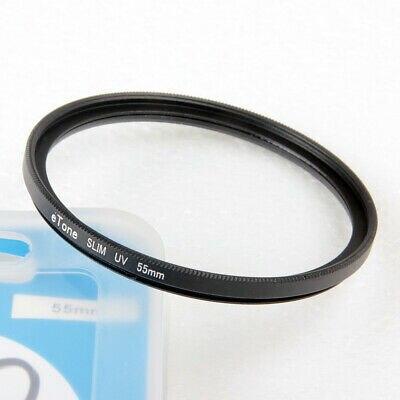 eTone Ultra Slim 55mm UV Filter For Nikon AF S DX 18 55mm f/3.5 5.6G VR Lens