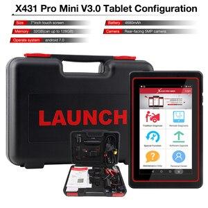 Image 5 - LAUNCH X431 Pro Mini v3.0 автомобильный диагностический инструмент WiFi/Bluetooth OBD2 полная система X 431 Pro Pros Мини Автомобильный сканер 2 года бесплатное обновление