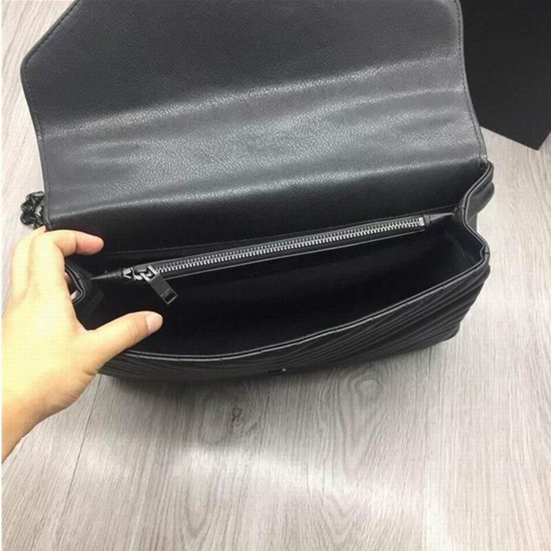 Bolsa feminina sac pour femmes 2019 sacs à main de luxe bandoulière concepteur sacs à bandoulière marque de mode noir sac à bandoulière bolso mujer sac - 6