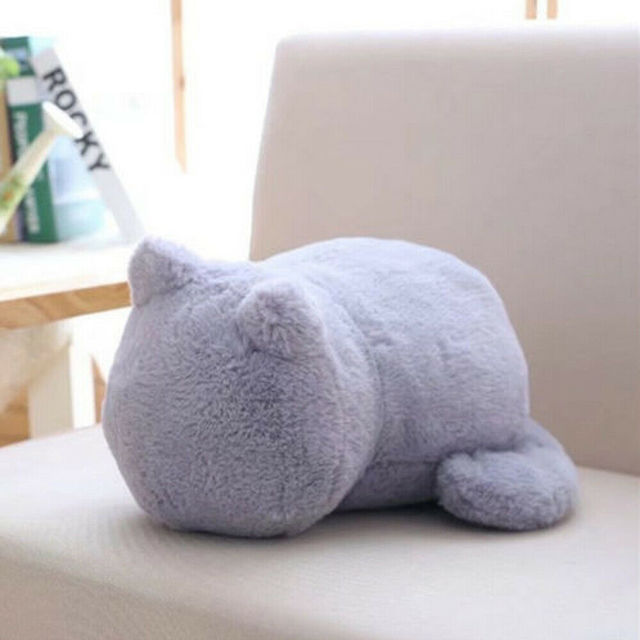Stuffed Lovely Cartoon Cat Pillow Doll Cushion Throw Pillow Plush Toy Sofa Home Decoration Sofa Bed Accessories