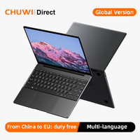 CHUWI GemiBook Pro 14 pulgadas 2160*1440 pantalla Intel Celeron J4125 procesador Quad Core LPDDR4X 8GB 256GB SSD Windows 10 Laptop