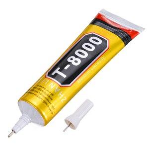 50ml T-8000 Glue Adhesive Epoxy Resin Repair Cell Phone Frame Fix LCD Touch Screen Glue Point Diamond Jewelry Super DIY Glue