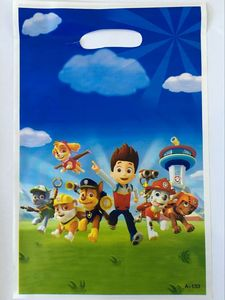 Image 4 - 106Pcs Paw Patrol Theme Baby Shower Boys Birthday Decoration Wedding Event Party Supplies Various Tableware Sets