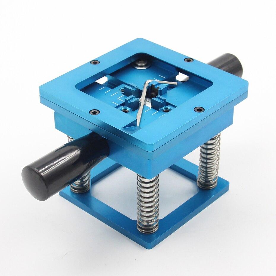 90MM blue BGA Reballing Station Stencils Template Holder Foxture Jig For PCB Chip Soldering Rework Repair