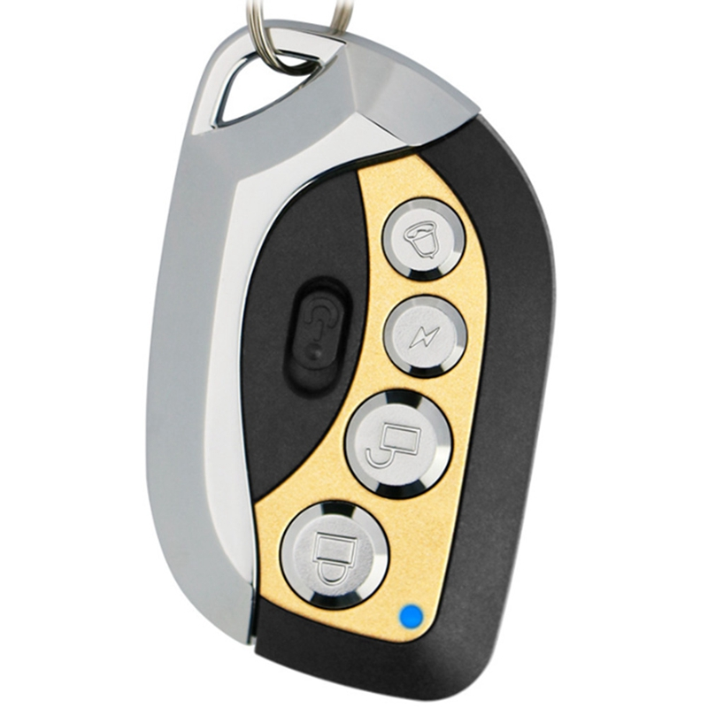 New Garage Electric Garage Door Remote Control Key 433Mhz 4 Buttons Copy Cloning Duplicator Remote Control Transmitter Switch