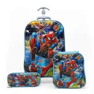 Kids Cars Reisbagage 3D Stereo Traplopen Trekstang Doos Cartoon Kind Potlood Doos Kinderen Cool Koffer Gift Boarding doos