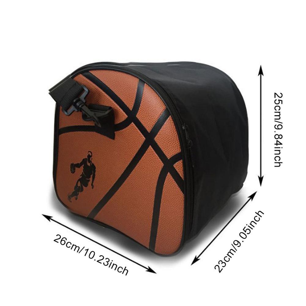 Модная баскетбольная сумка для спорта на открытом воздухе, мужские спортивные сумки для спортзала, баскетбольные сумки, мячи, аксессуары для тренировок-5