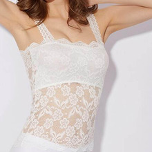White Lace Crochet Tank Tops Women Summe