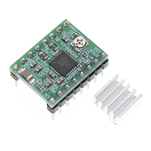 Image 3 - 100Pcs A4988 Module Cnc 3D Printer Onderdelen Accessoire Reprap Pololu Stepper Motor Driver Module Met Heatsink Voor Ramps 1.4