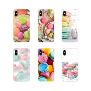 dessert ice cream laduree Macarons For Samsung Galaxy J1 J2 J3 J4 J5 J6 J7 J8 Plus 2018 Prime 2015 2016 2017 Silicone Skin Cover
