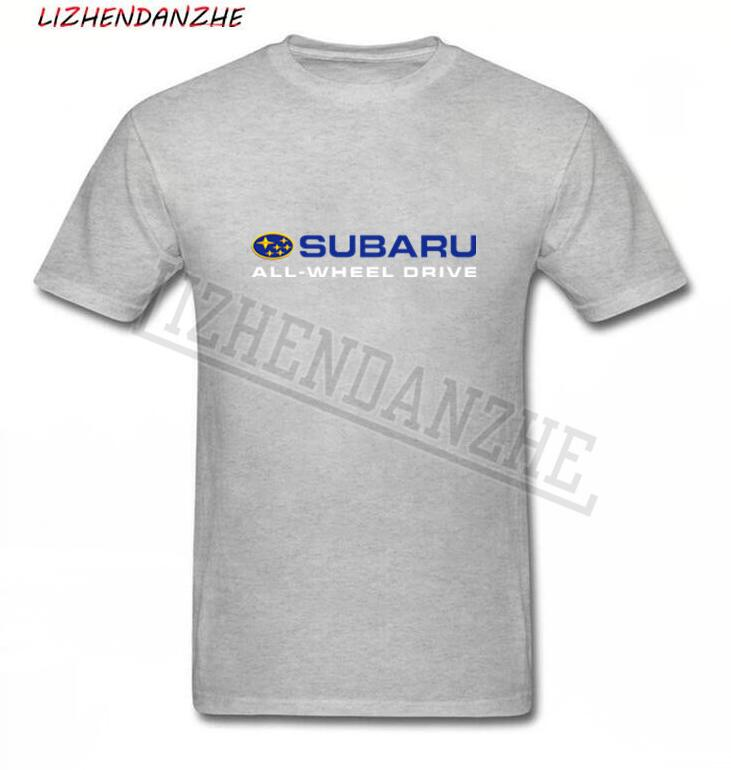 SUBARU ALL-WHEEL DRIVE Logo T-shirt, Men's Popular Brand Car Logo T Shirt, AUTO Clothing Short-sleeved Tshirt TEES New 0263