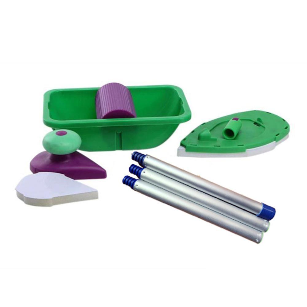 1 Set Paint Roller + 4 Sponge