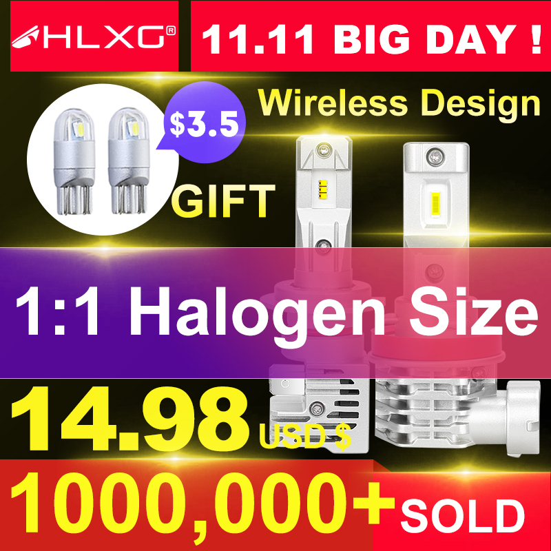 With ZES Korea CSP Mini H7 LED Lamps For Cars Headlight Bulbs H4 Led H8 H11 Fog Light HB3 9005 HB4 6000K Luces Led Para Auto 12V