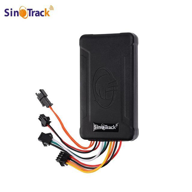 SinoTrack rastreador GPS ST 906 GSM para coche y motocicleta dispositivo de seguimiento de vehículos con corte de potencia de aceite y software de seguimiento en línea
