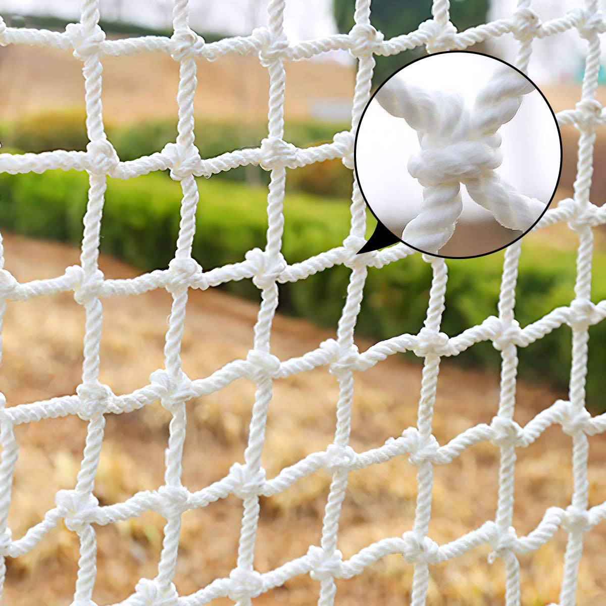 Solid Nylon Railing Stairs Netting Children Safety Net Building Anti-Falling Safety Net Balcony Security Guards for Kids Pet