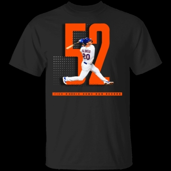 Camiseta negra de Pete barman Hits 52 Home Run Record M Xxxl,...