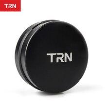 TRN – boîte en métal pour écouteurs Bluetooth, boîte de rangement pour écouteurs, logo personnalisable, haut de gamme, Anti-pression, sac Portable pour écouteurs TRN V90