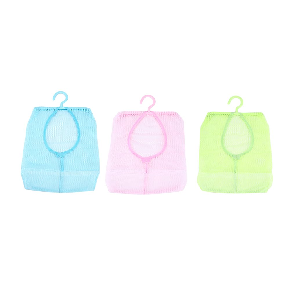 Foldable Eco Friendly Bathroom Kitchen Hanging Storage Mesh Bags Portable Pouch Luggage Organiser Net Baskets